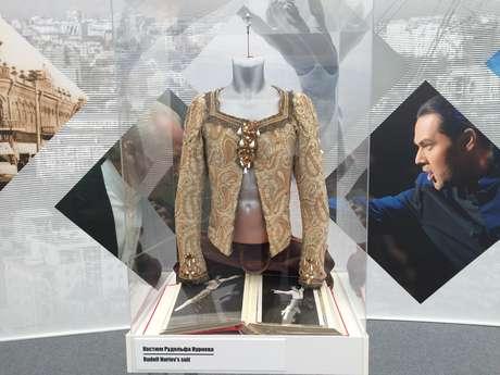 Traje usado pelo famoso bailarino russo Rudolf Nureyev, nascido em Ufá