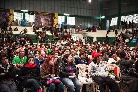 Encontro mundial de movimentos populares em Santa Cruz de La Sierra, na Bolívia, reúne delegações de 40 países