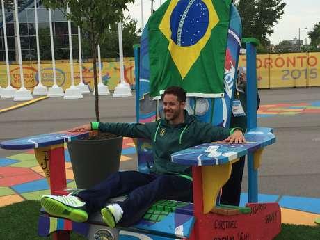 Thiago Pereira veio ao Pan de olho nos recordes