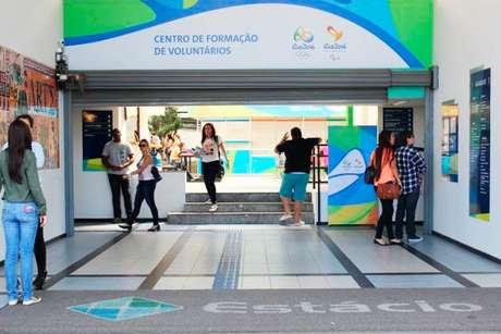Rio-2016 inaugura primeiro centro de formação de voluntários