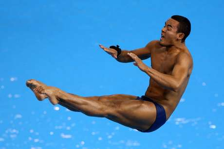 Ian Matos acabou eliminado do trampolim de três metros