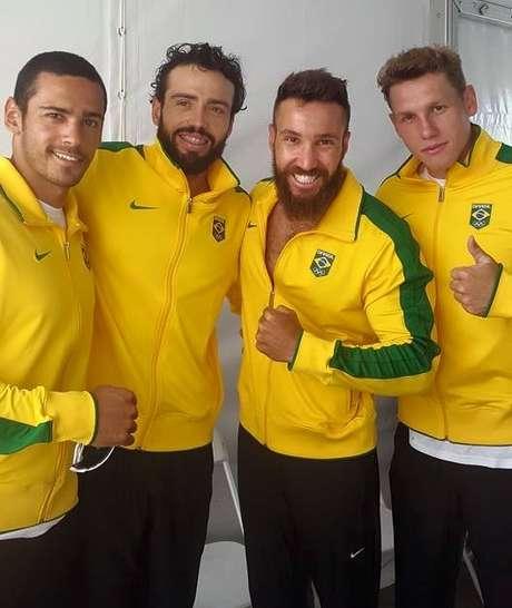 Equipe brasileira ficou com a prata no Pan