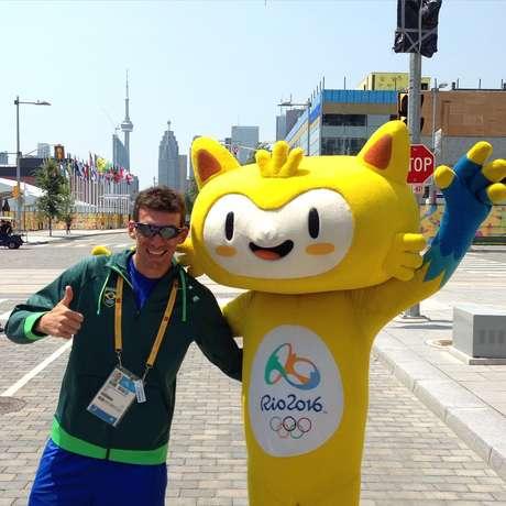 Diogo Sclebin foi o melhor brasileiro na prova masculina em Toronto