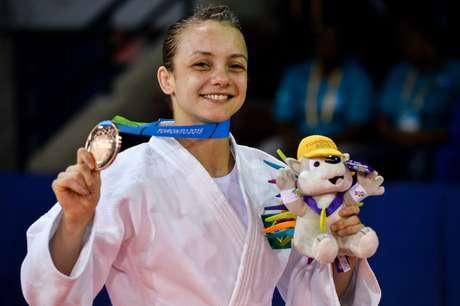Nathalia Brígida, que desbancou Sarah Menezes na convocação para o Pan, conquistou a primeira medalha do Brasil em Toronto