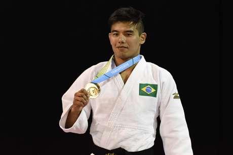 Charles Chibana faturou a medalha de ouro neste domingo