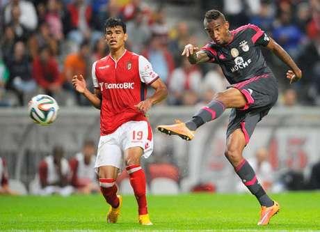 Braga x Benfica - Danilo Silva e Anderson Talisca