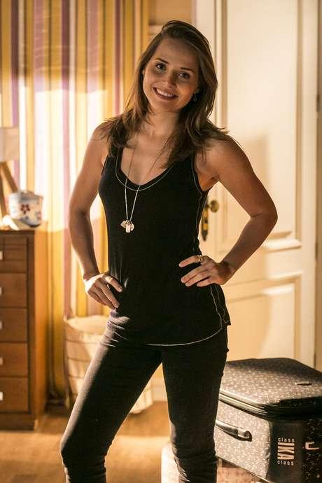 Elisa (Letícia Colin), de 'Sete Vidas', agradou com cabelo liso e longo