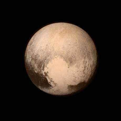 Imagem divulgada pela sonda New Horizons, nesta terça-feira