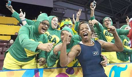HOME - Pan de Toronto-2015 - Joice Souza - luta olímpica