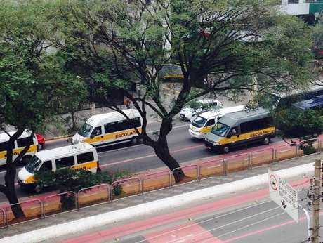 Carreata passa pela rua Domingos de Morais, na Vila Mariana