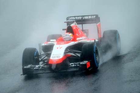 Jules Bianchi se chocou contra guindaste na pista de Suzuka