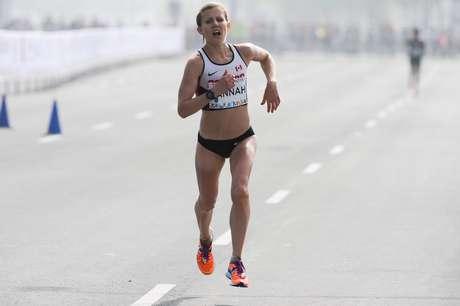Prova da maratona feminina foi realizada neste sábado em Toronto