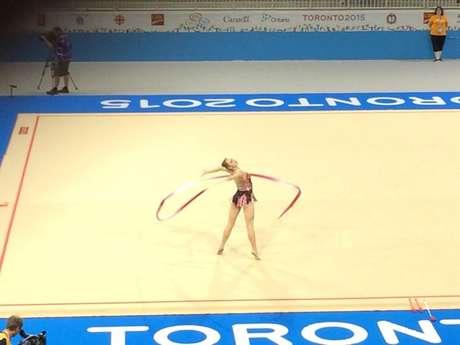Angélica levou bronze no Pan de Toronto