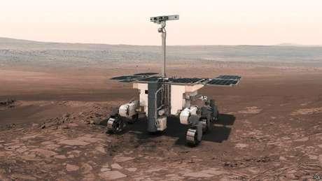 O veículo robótico viajará para Marte em 2018