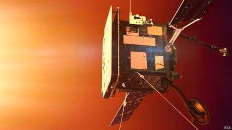 A sonda Solar Orbiter será submetida a temperaturas de 520 graus