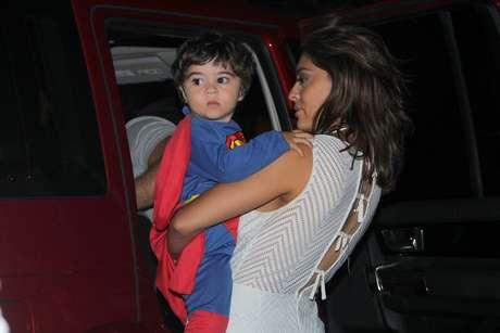 Juliana Paes celebra aniversário do filho Antônio, no Rio de Janeiro, neste domingo (19)
