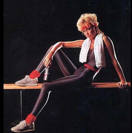 Moda fitness fez sucesso nos anos 80 e passava a ideia de vida saudável