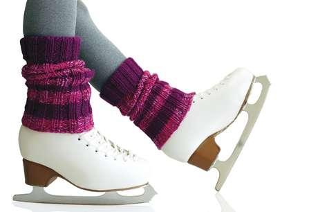Polainas eram usadas com calças para compor um look descolado nos anos 80