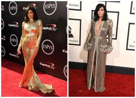 El vestido de los Espy Awards de Kylie está claramente inspirado en el que Kim llevó