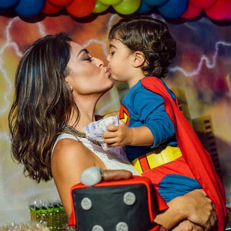 Juliana Paes posta no Instagram declaração de amor ao filho Antônio, que recentemente completou 2 anos