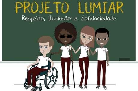 """Convidada por Luana, a ex-aluna Talita Amorim fez a arte gráfica do projeto """"Lumiar"""""""