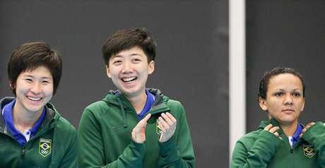 Pan Toronto - Tenis de mesa Feminino, medalha de Prata