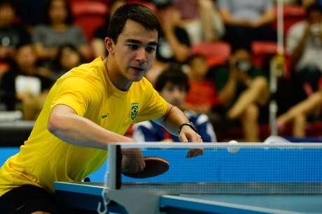 Equipe brasileira enfrentou paraguaios na final do tênis de mesa por equipes dos Jogos Pan-Americanos de Toronto, nesta terça-feira, em Markham