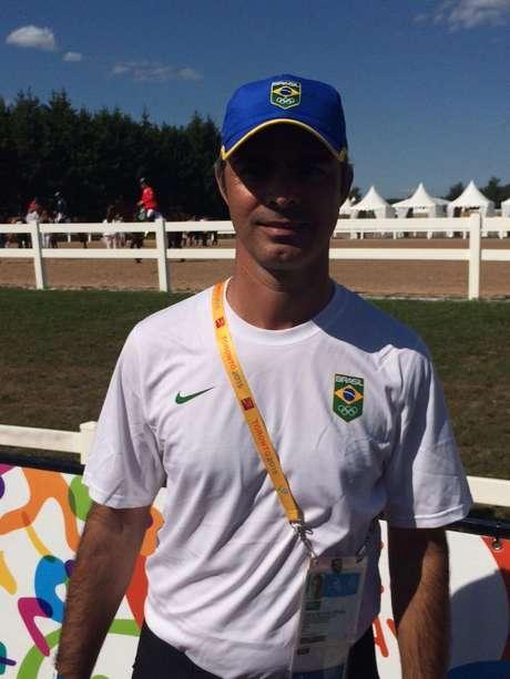 Rodrigo Pessoa foi reserva do Brasil no Pan de Toronto