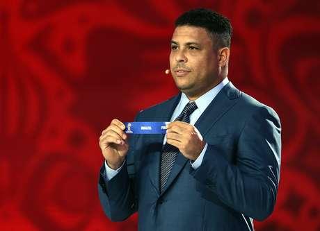 Ronaldo participou do sorteio das Eliminatórias da América do Sul