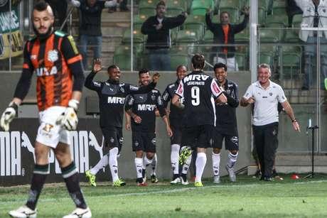 Atlético-MG voltou a vencer no Campeonato Brasileiro depois da derrota para o Corinthians