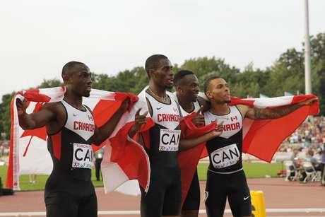Canadá celebrou o ouro, mas... foi punido depois de infração de um de seus atletas