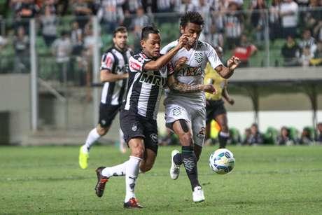 Figueirense fez jogo duríssimo com o Atlético-MG no Horto