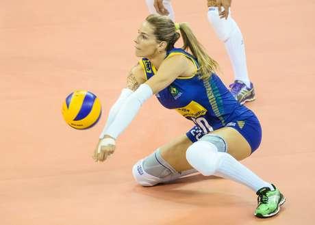 Seleção Brasileira feminina de vôlei superou a Itália neste domingo
