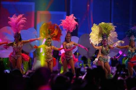 Carnaval afro caribenho este presente na cerimônia de encerramento