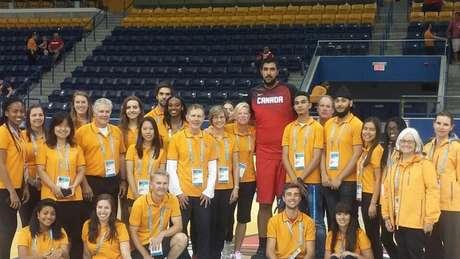 Voluntários dos Jogos Pan-Americanos de Toronto