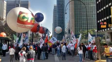 Protesto tem como objetivo sensibilizar o Comitê de Política Monetária (Copom)