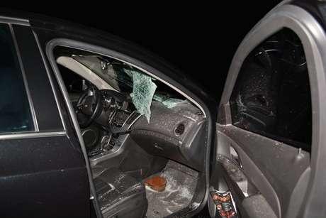 Três carros se envolveram em acidente na rodovia BA-262