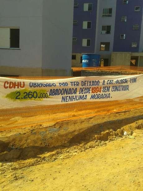 Conjunto onde estão sendo construídas 391 unidades habitacionais foi ocupado