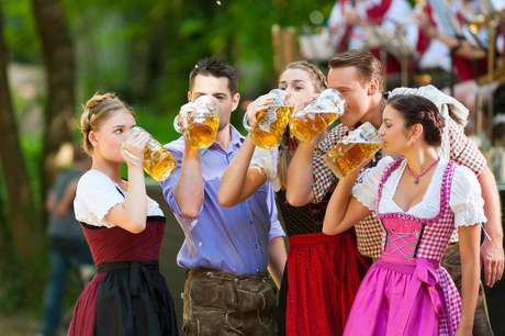 Entre setembro e outubro é a época da Oktoberfest de Munique