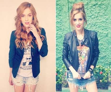 Segundo Sophia, o shorts jeans e a camiseta customizada são peças chaves para ir a um festival de rock
