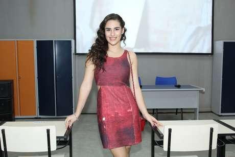 Livian Aragão celebra nova temporada de Malhação em  festa no Projac, no Rio, nesta terça-feira (4)