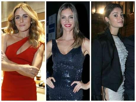Giovanna Antonelli, Fernanda Lima e Sophie Charlotte
