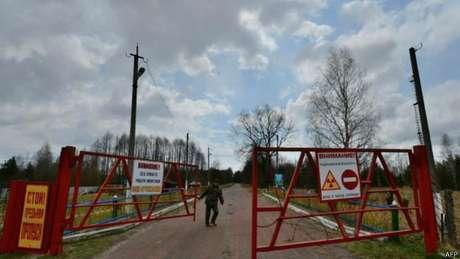 Há uma zona de exclusão em Chernobil que ninguém pode cruzar
