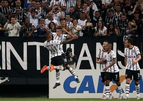 Luciano marcou três gols nas duas últimas partidas do Corinthians