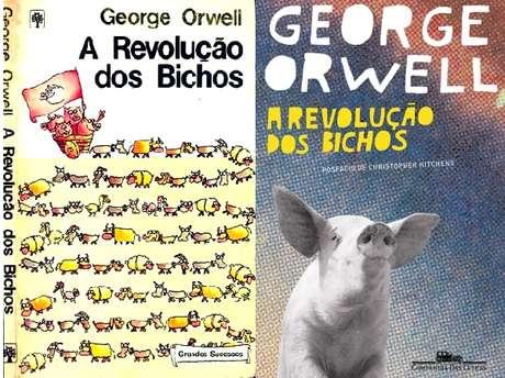 Uma das primeiras edições do livro no Brasil e a mais recente