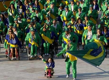 FOTOS - Veja imagens da cerimônia de abertura dos Jogos Parapan-Americanos de Toronto