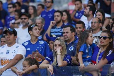 Torcedor do Cruzeiro compareceu ao Mineirão