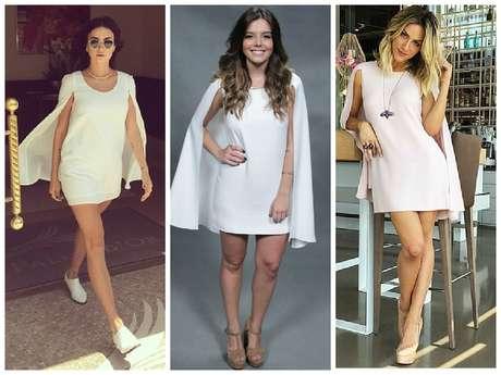 Atrizes Thaila Ayala e Giovanna Ewbank também já usaram o modelo com capa