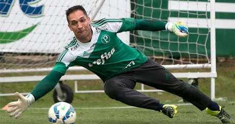 Fernando Prass - goleiro do Palmeiras -