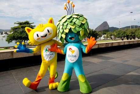Mascotes Rio-2016 - Vinícius e Tom